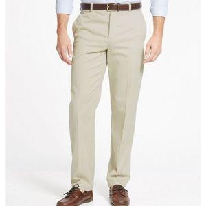 Cherokee Mens Khakis Wrinkle Resistant Pants